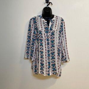 Wrangler button up blouse